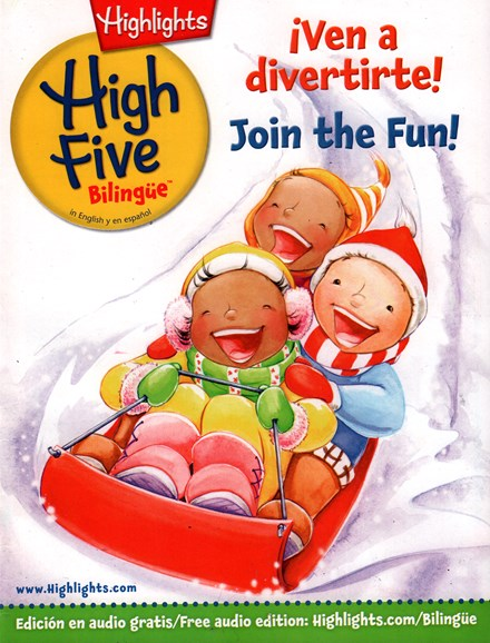 Highlights High Five Bilingue Cover - 12/1/2015