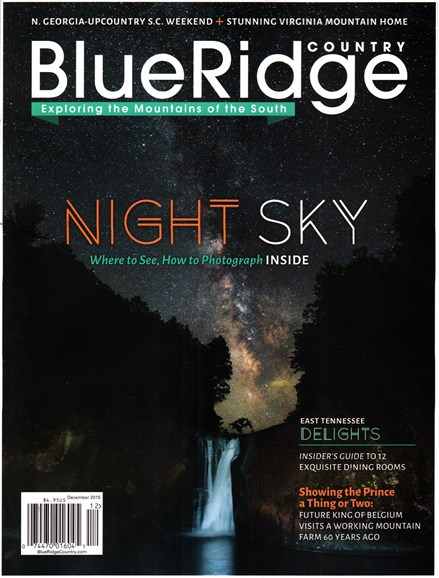 Blue Ridge Country Cover - 12/1/2015