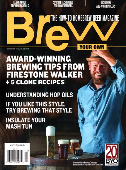 Brew Your Own Cover - 12/1/2015