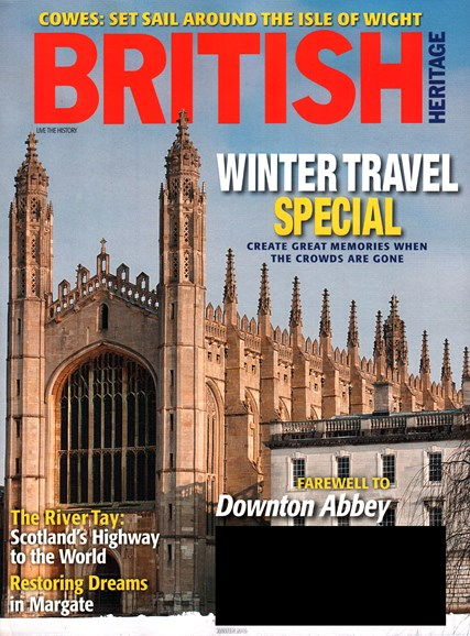 British Heritage Travel Cover - 12/1/2015
