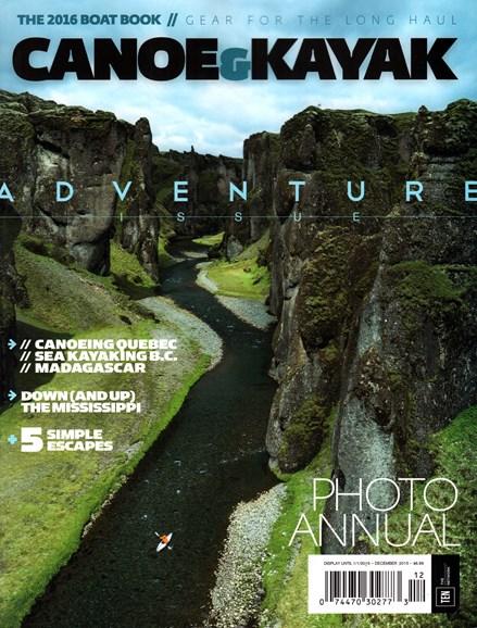 Canoe & Kayak Cover - 12/1/2015
