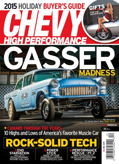 Chevy High Performance Cover - 12/1/2015