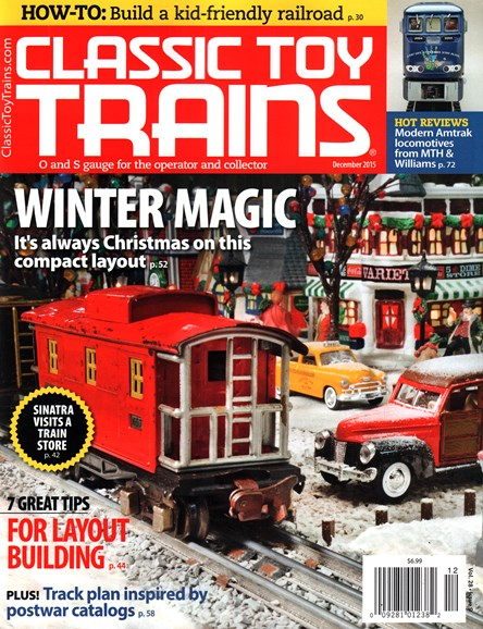 Classic Toy Trains Cover - 12/1/2015