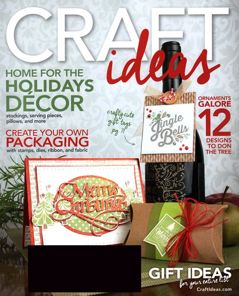 Craft Ideas Cover - 12/1/2015