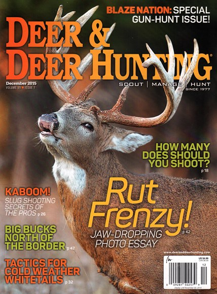 Deer & Deer Hunting Cover - 12/1/2015