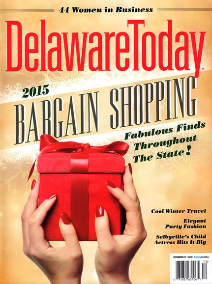 Delaware Today Cover - 12/1/2015