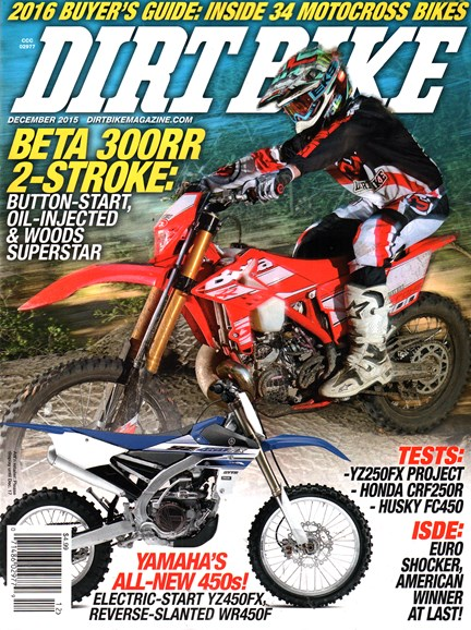 Dirt Bike Cover - 12/1/2015