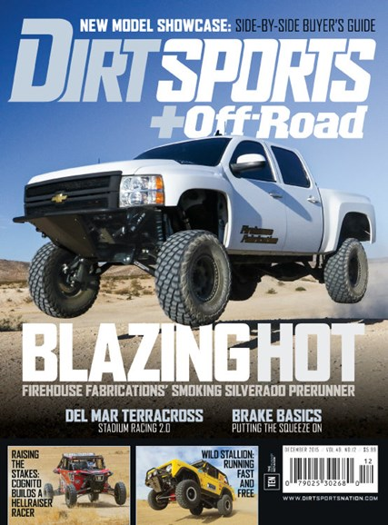 Dirt Sports & Off-Road Cover - 12/1/2015