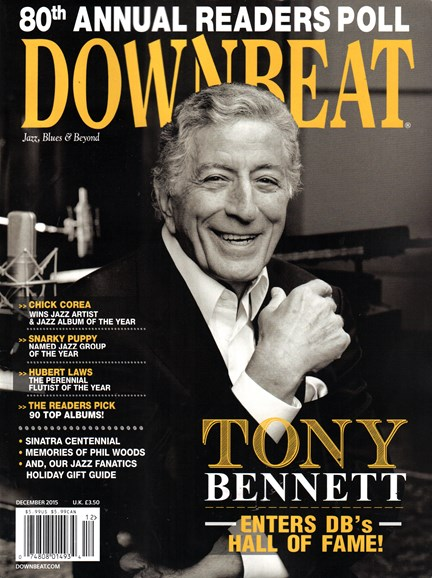 DownBeat Cover - 12/1/2015
