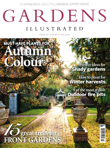 Gardens Illustrated Cover - 11/1/2015