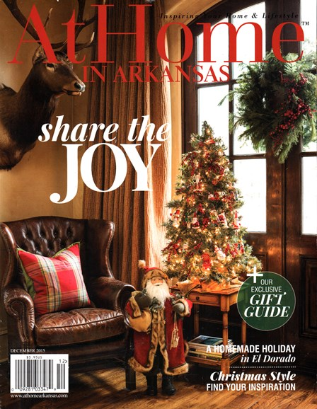 At Home In Arkansas Cover - 12/1/2015