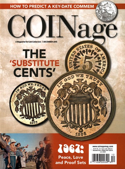Coinage Cover - 12/1/2015