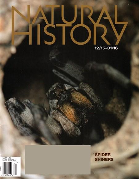 Natural History Cover - 12/1/2015