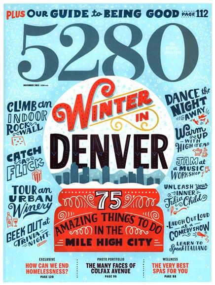 5280 Magazine Cover - 11/1/2015