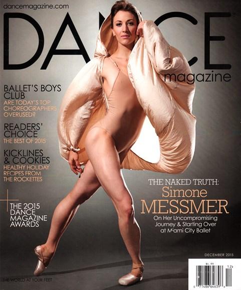 Dance Magazine Cover - 12/1/2015