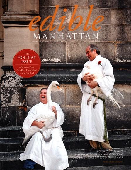 Edible Manhattan Cover - 11/1/2015