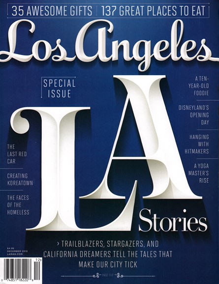 Los Angeles Cover - 12/1/2015