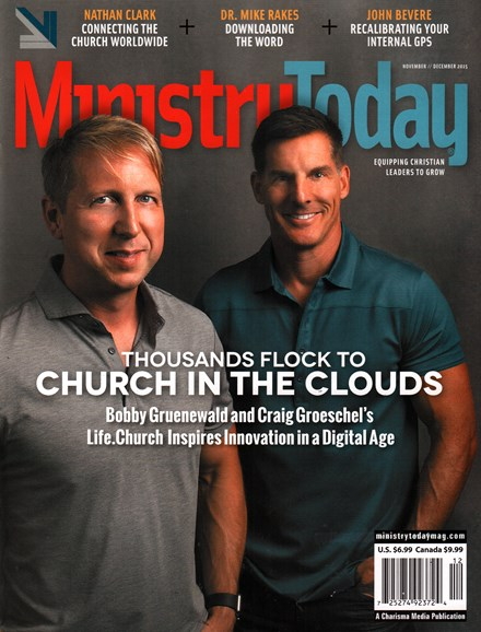 Ministry Today Cover - 11/1/2015