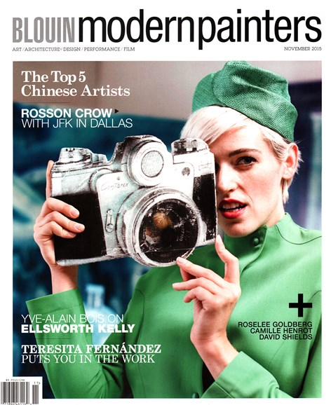 Blouin Modern Painters Cover - 11/1/2015