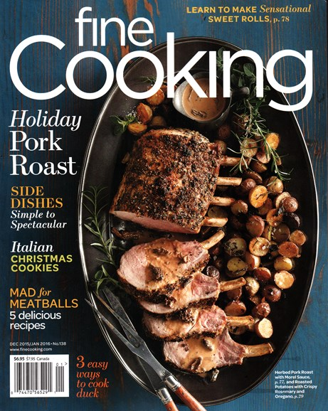 Fine Cooking Cover - 12/1/2015
