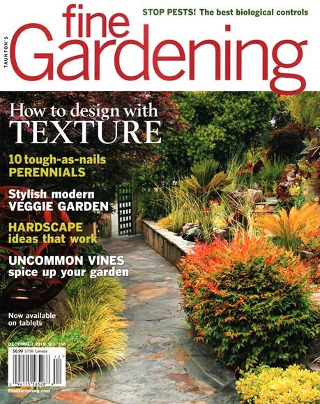 Fine Gardening Cover - 12/1/2015