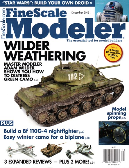 Finescale Modeler Cover - 12/1/2015
