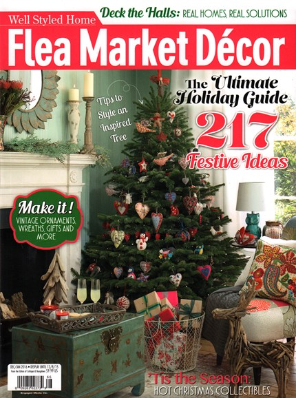Flea Market Décor Cover - 12/1/2015
