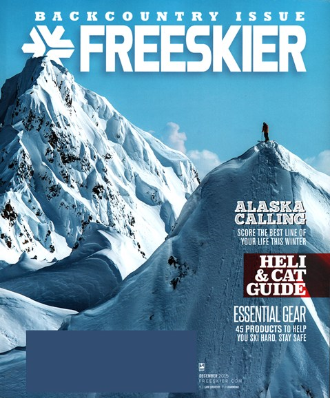Freeskier Cover - 12/1/2015