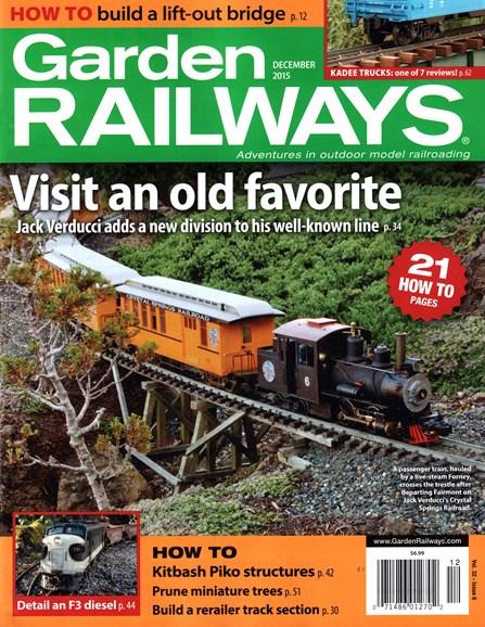 Garden Railways Cover - 12/1/2015