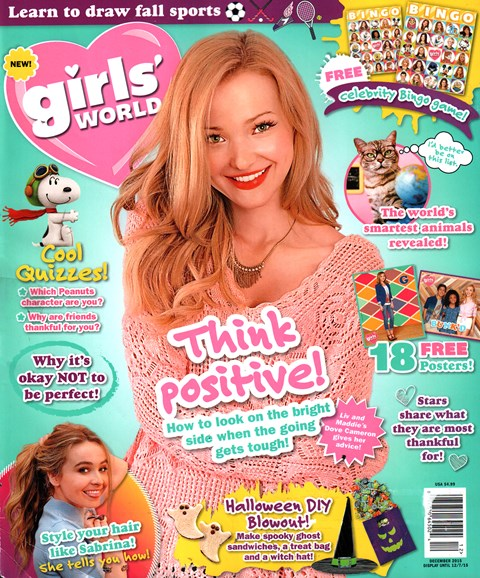 Girls' World Cover - 12/1/2015