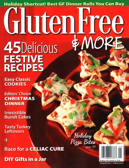 Gluten Free & More Cover - 12/1/2015