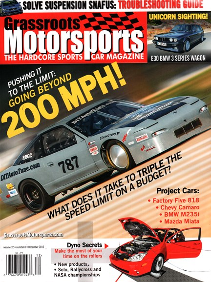 Grassroots Motorsports Cover - 12/1/2015