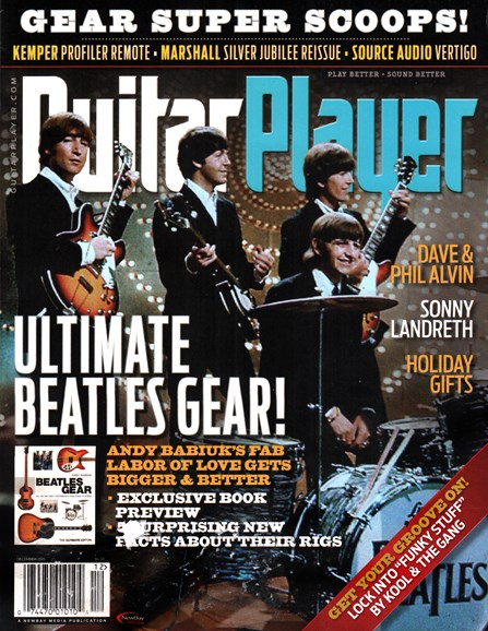 Guitar Player Cover - 12/1/2015
