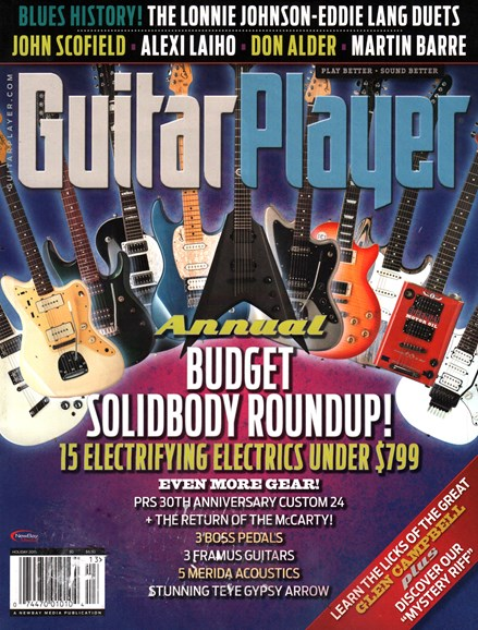 Guitar Player Cover - 12/25/2015