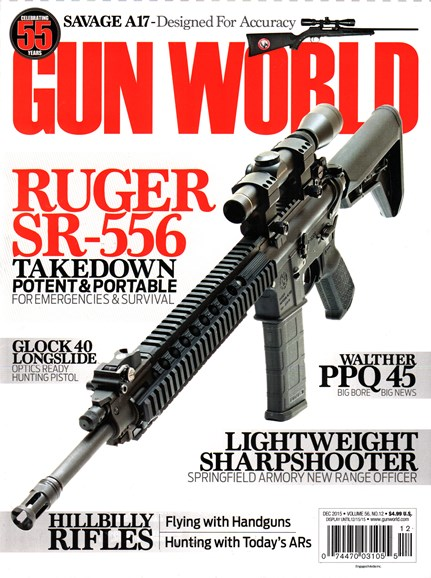 Gun World Cover - 12/1/2015