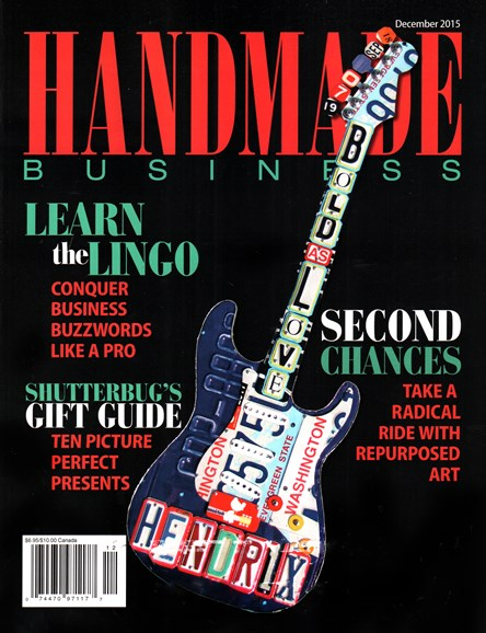Handmade Business Cover - 12/1/2015