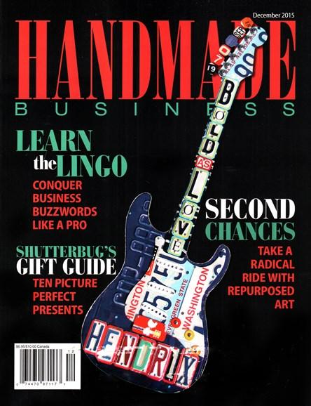 Handmade Business Cover - 12/1/2015