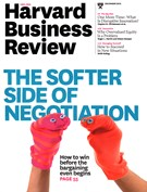 Harvard Business Review Magazine 12/1/2015