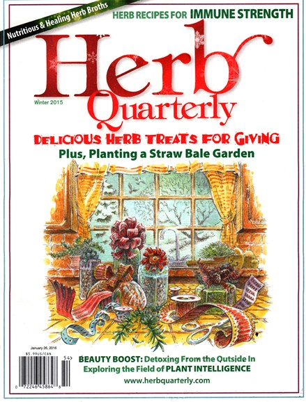 Herb Quarterly Cover - 12/1/2015
