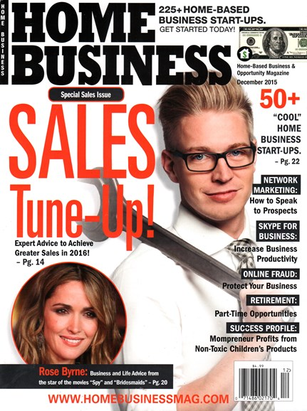 Home Business Magazine Cover - 12/1/2015