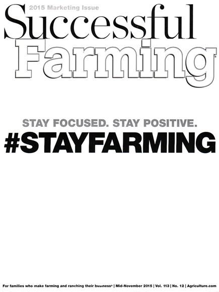 Successful Farming Cover - 11/15/2015