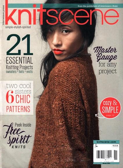 Knitscene Cover - 12/1/2015
