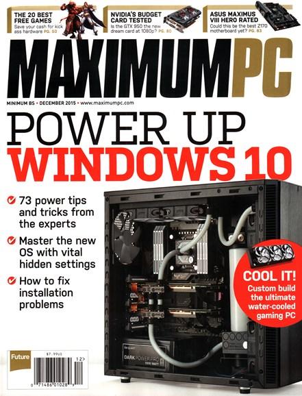 Maximum PC Cover - 12/1/2015