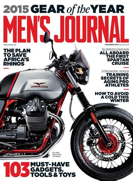 Men's Journal Cover - 12/1/2015