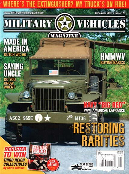 Military Vehicles Cover - 12/1/2015