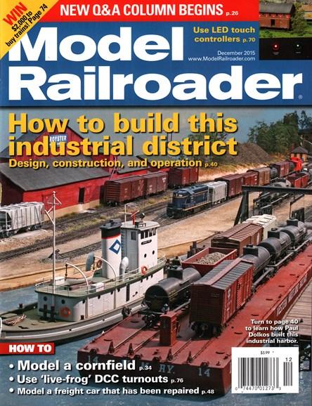Model Railroader Cover - 12/1/2015