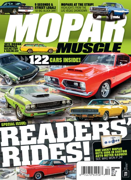 Mopar Muscle Cover - 12/1/2015