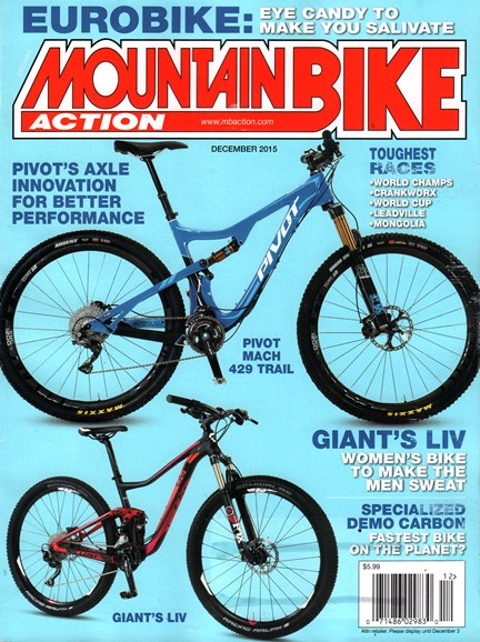 Mountain Bike Action Cover - 12/1/2015