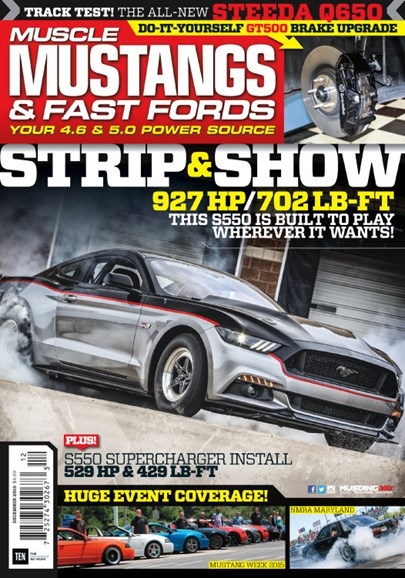 Muscle Mustangs & Fast Fords Cover - 12/1/2015