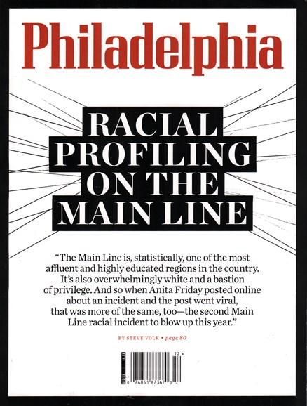 Philadelphia Magazine Cover - 12/1/2015